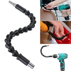 Drill Black Flexible Shaft Extension
