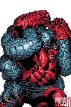 Red Hulk vs. Abomination