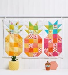 Pineapple block wall