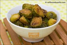 Stir-fried Brussel Sprouts with Bread Crumbs by Coffee & Vanilla Stir Fry Brussel Sprouts, Best Wok, World Recipes, Bread Crumbs, Poland, Fries, Vanilla, Dishes, Vegetables