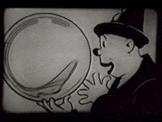 The balloon devil Animated GIFs: Fleischer's Bubbles (1922) | The Public Domain Review