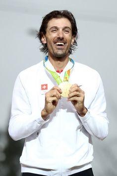 Gold medalist Fabian Cancellara Men's Individual Time Trial Rio Olympic Games 2016