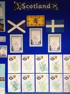 Scotland topic Scotland, Gallery Wall, Classroom, School, Art, Class Room, Art Background, Kunst, Performing Arts