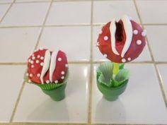 Mario cake pops
