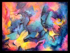 """""""El hombre de la galera"""" - Fernanda Pericola - Acrìlico sobre tela - 60 x 80 cm www.esencialismo.com"""