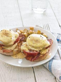 Eggs Blackstone with Meyer Lemon Hollandaise: Like Eggs Benedict but ...