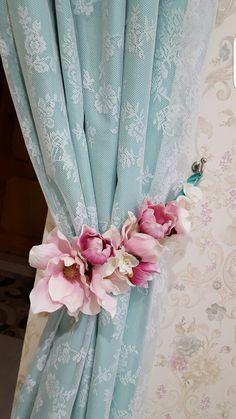 DIY curtains tie backs