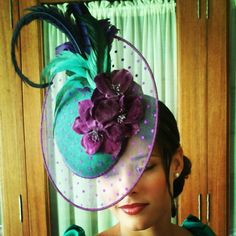 #Cherubina #tocado #headpiece #boda #wedding #invitada