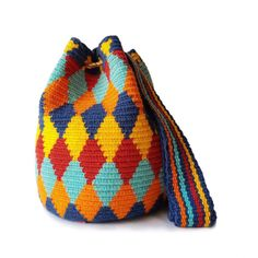 Shop | LOMBIA + CO. Tapestry Crochet, Fair Trade, Shopping Bag, Night Out, Coin Purse, Wallet, Knitting, How To Wear, Handmade