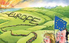 Monumentale Wanderung:Der Strom der Vertriebenen aus dem Nahen Osten ist eine klare Botschaft an die Europäer – Wenn der Krieg zu uns kommt, kommen wir zu Euch. Die Flüchtlingsströme sind st…