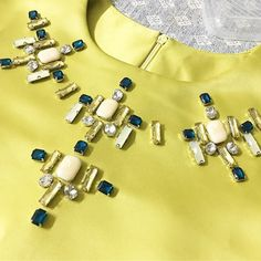 #feedback #sayajualservice #sayajahitmanik #craft #wedding #bajunikah #patch #patchinglace #bajutunang #wedding #weddingdress #jahitmanik #manik #chunkybeads #muslimah #ootdmalaysia #ootd #hijabster #muslimahfashion #bajuraya2016 #bajuraya #hijabster #hijabis Zardozi Embroidery, Hand Embroidery Dress, Embroidery On Clothes, Couture Embroidery, Embroidery Fashion, Embroidery Jewelry, Beaded Embroidery, Bead Embroidery Tutorial, Bead Embroidery Patterns