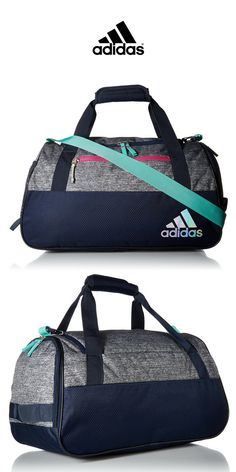 db8da64ae Adidas - Squad III Duffel Bag | Green Grey Navy Pink | Click for Price and