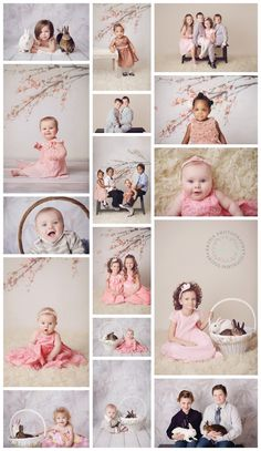 The last set up will be white paper with cherry blossom or magnolia branches across the top. I have few props to add in too Photography Mini Sessions, Spring Photography, Children Photography, Family Photography, Spring Pictures, Easter Pictures, Easter Backdrops, Christmas Mini Sessions, White Paper