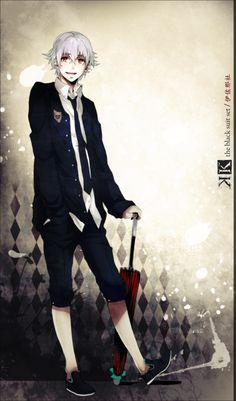 K Project ~~ Black Suit set :: Isana Yashiro by sayuuhiro.deviantart.com on @deviantART