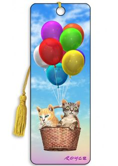 Artgame 3D Kitty Up Bookmark