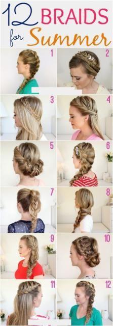 12 Braids For Summer #Beauty #Trusper #Tip