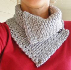 Stacey's Daze:: flying unfinished: Crocheted Cowl