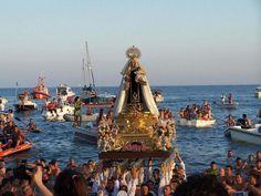 Procession of the Virgen del Carmen, Tabarca Island