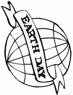 Free Printable - Earth Day Coloring Pages