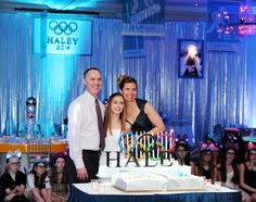 On Top of the World: Haley's Winter Olympics Bat Mitzvah at The Woodcliff Lake Hilton | MMP Entertainment Blog