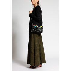 Découvrez et achetez la jupe en daim kaki Lapis Italia sur notre e-shop de prêt-à-porter de luxe, Irina Kha