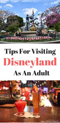 Heading to to the Happiest Place on Earth soon sans kids? Here's tips on how to make the most of your visit including where to find the best mai tais to spots around the park where you can take a well-deserved break Disneyland Couples, Disneyland Outfits, Disneyland Food, Disneyland Hotel, Downtown Disney, Disney Universal Studios, Dumbo The Flying Elephant, Amazing Destinations, Travel Destinations
