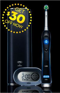Oral-B Black 7000 Electric Toothbrush with SmartGuide AUD 230
