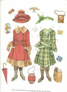 Brooke and Buddy of the 1920s Paper Dolls by Evelyn Gathings, -Dover Publications, 2000: Plate 15 (of 16)
