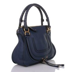 Medium Marcie Fashionette Bag Blau In Chloé Blue Scuba TwREFqz