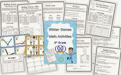 Winter Games Math Activities