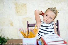 Love this School themed session from Jamie Larson Photography