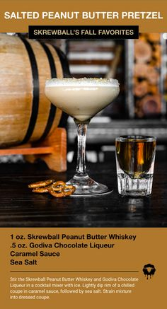Fall Drinks, Party Drinks, Summer Drinks, Cocktail Drinks, Cocktail Recipes, Alcoholic Drinks, Martini Recipes, Beverages, Whiskey Recipes