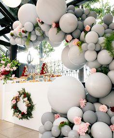 Como usar Balões para decorar o seu Casamento - Wedding blog Brasil