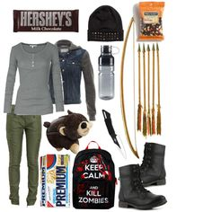 Polyvore Zombie | fashion look from October 2013 featuring Fat Face t-shirts, Rag ...