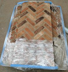 Heat resistant fireplace chamber lining panels clad in real cut narrow brick slips. The simple way to install brick slips to your Inglenook fireplace. Inglenook Fireplace, Home Fireplace, Fireplace Mantels, Fireplaces, Herringbone Fireplace, Brick Bonds, Small Stove, Brick Cladding, Cladding Systems