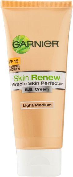 Garnier Skin Renew Miracle Skin Perfector B.B. Cream Light/Medium Ulta.com - Cosmetics, Fragrance, Salon and Beauty Gifts