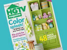 Meagan Camp bright color splash