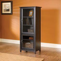 Audio Storage Cabinet Glass Door