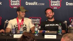 2013 CrossFit Games winner Rich Froning and runner-up Jason Khalipa talk about their battle during this year's competition. Reebok Crossfit, Crossfit Games, Crossfit Athletes, Rich Froning, Competition, Battle, Workout, Motivation, Fitness