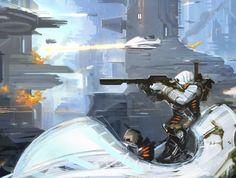"""""""Ground Battle Support"""" by Alex Drummond"""
