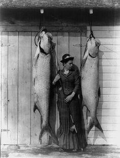 A great 1920s tarpon photo.