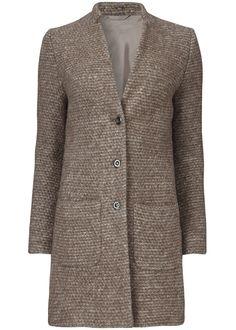 365a287a76cf Gustav Jakke gråbrun 20301 Woolen Cardi Coat animal fur – Acorns Agern