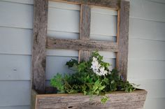 Love using old wood in a new project