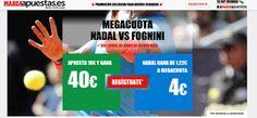 el forero jrvm y todos los bonos de deportes: marca apuestas megacuota Nadal vs Fognini US Open ...