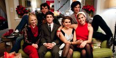 The cast of The Perks of Being a Wallflower by Stephen Chbosky