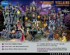 Love it Disney Villains Halloween Village Collection!
