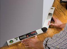Amazon.com: Bosch DAF220K Miter finder Digital Angle Finder with Leg Extension and Case: Home Improvement