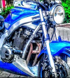 Suzuki GS 500. Naked Kan edition. #Motorcycle, #cafe race, #Spain, #Madrid, #custom, #racing, #motos