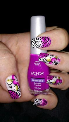 Fabulous Nails, Gorgeous Nails, Pretty Nails, Fancy Nails, Love Nails, How To Do Nails, Claire's Nails, Gel Manicure, Pretty Nail Designs