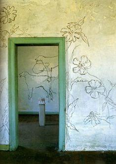 House Tour: Jean Cocteau's Villa Santo Sospir via the improvised life.